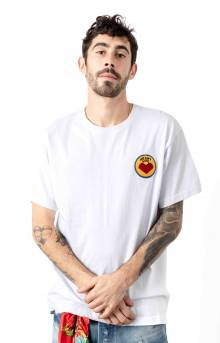 BB Heart And Mind SS Knit T-Shirt - White