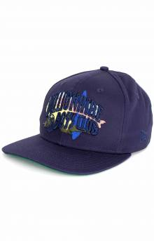 BB Hidden Cam Snap-Back Hat - Light Navy