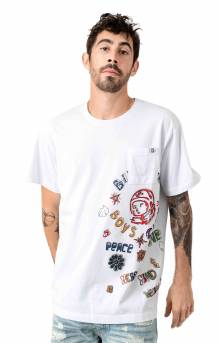 BB High And Rising  SS Knit T-Shirt - White