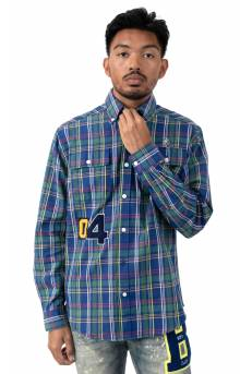 BB Kindling L/S Woven Button-Up Shirt