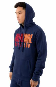 BB Parallel Pullover Hoodie - Medieval Blue