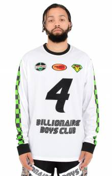 BB Pro MX L/S Knit - White