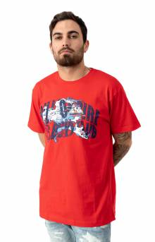 Billionaire Boys Club, BB Recovery T-Shirt - High Risk Red