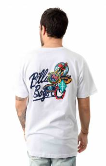 Billionaire Boys Club, BB Script SS T-Shirt - White
