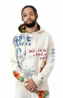 BB Shuttle Pullover Hoodie - Whisper White