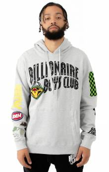 BB Space Circuit Pullover Hoodie - Heather Grey