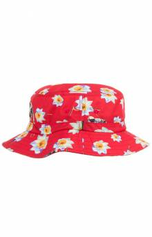 BB Space Petal Bucket Hat - Red