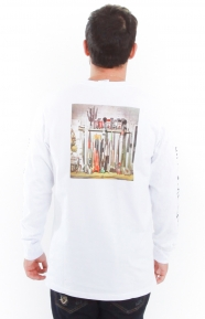 BB Space Program L/S Shirt - White