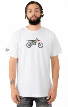 BB Space Track T-Shirt - White