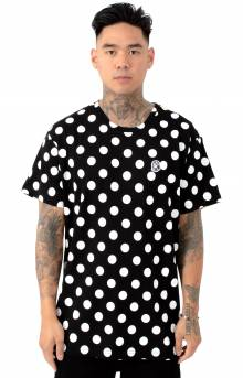 BB Spot Knit T-Shirt - Black