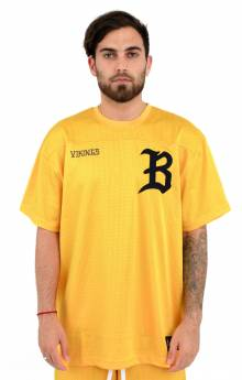 BB Starter S/S Knit Jersey - Spectral Yellow
