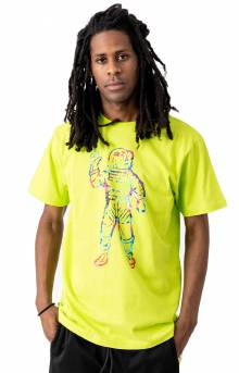 BB Tie Dye Astro T-Shirt - Lime Punch
