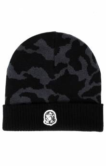 BB Tonal Camo Skully Beanie - Black