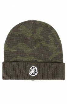 BB Tonal Camo Skully Beanie - Forest Night