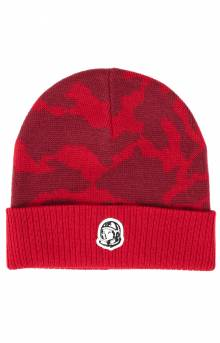 BB Tonal Camo Skully Beanie - Tango Red