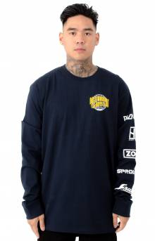 BB World Tour L/S Shirt - Navy