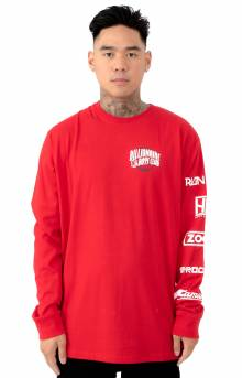 BB World Tour L/S Shirt - Red