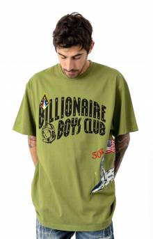 Moonwalk T-Shirt - Calliste Green