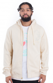 Orbit Zip-Up Hoodie - Angora