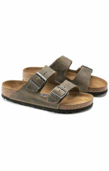 (0551251) Arizona Soft Footbed Sandals - Faded Khaki