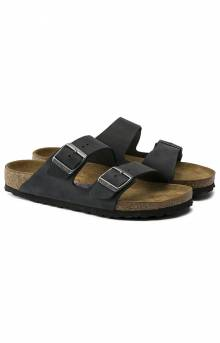 Birkenstock, Arizona Soft Footbed Sandals - Black