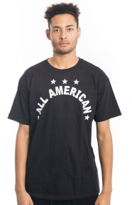 All American T-Shirt - Black