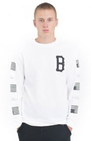 Repeat Rebel L/S Shirt - White