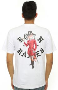 Born X Raised Clothing, The Snootiest T-Shirt - White