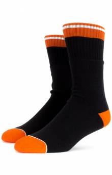 Alameda Socks - Black/Orange