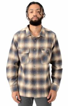Archie L/S Flannel - Blue/Brown