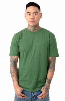 Basic Pocket T-Shirt - Leaf