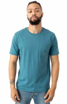 Basic Pocket T-Shirt - Orion Blue