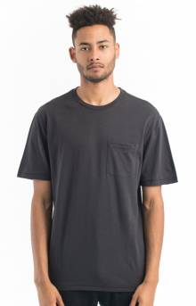 Basic Pocket T-Shirt - Washed Black