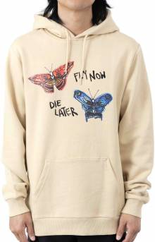 BB Fly Now Pullover Hoodie - Gravel