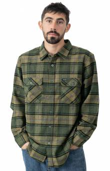 Bowery Lined L/S Flannel - Evergreen