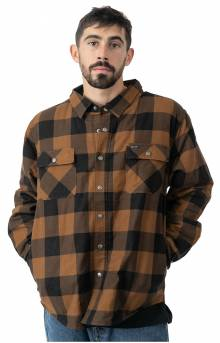 Bowery Lined L/S Flannel - Navy/Copper