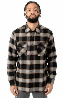 Bowery L/S Button-Up Shirt - Black/Cream