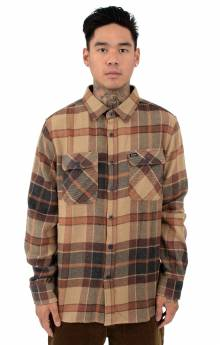 Bowery L/S Button-Up Shirt - Cream/Copper