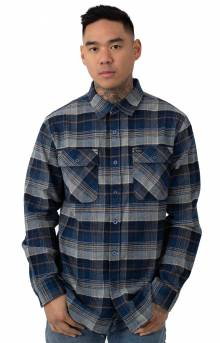 Bowery L/S Flannel - Blue Night