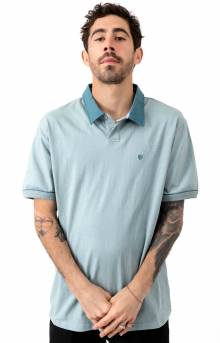 Carlos S/S Polo Knit - Blue Stone
