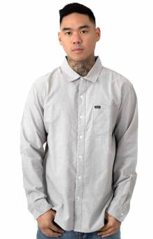 Charter Oxford L/S Button-Up Shirt - Grey