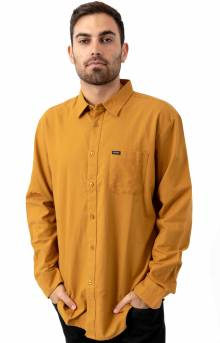 Charter Oxford L/S Button-Up Shirt - Maize