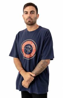Brixton Forte T-Shirt - Washed Navy