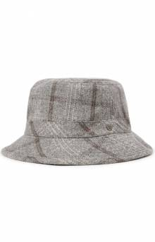 Hardy Bucket Hat - Grey Plaid
