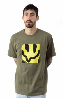Melter Square T-Shirt - Military Olive