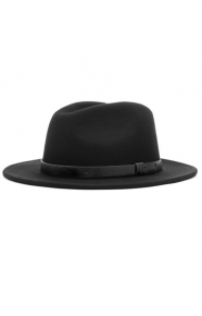 Messer Fedora - Black/Black