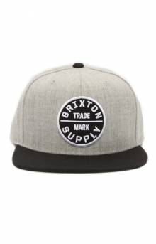 Oath III Snap-Back Hat - Heather Grey/Black