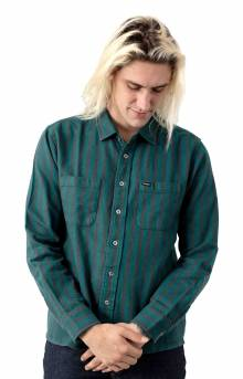 Reynold L/S Flannel Button-Up Shirt - Atlantic Blue