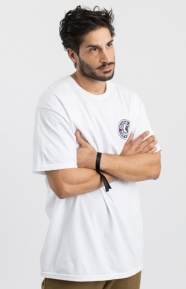 Brixton Clothing, Rival II T-Shirt - White