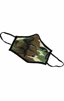Youth Antimicrobial Face Mask - Camo
